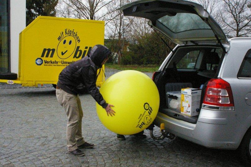 """ADAC-Aktion """"Mobil mit Köpfchen"""" am Dominicus-von-Linprun-Gymnasium"""