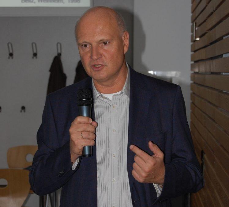 Burn-out-Vortrag von Prof. Dr. Schreiber für das Kollegium des Gymnasiums