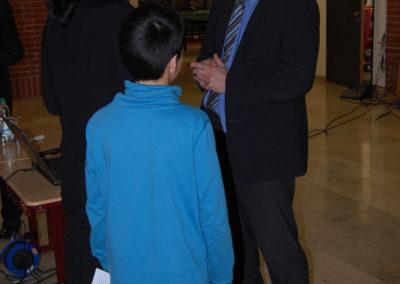 Der Schulleiter Martin Friedl