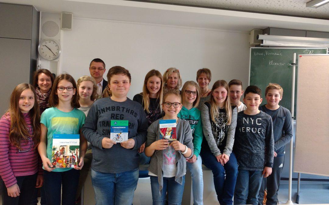 Vorlesewettbewerb in Französisch am Dominicus-von-Linprun-Gymnasium Viechtach