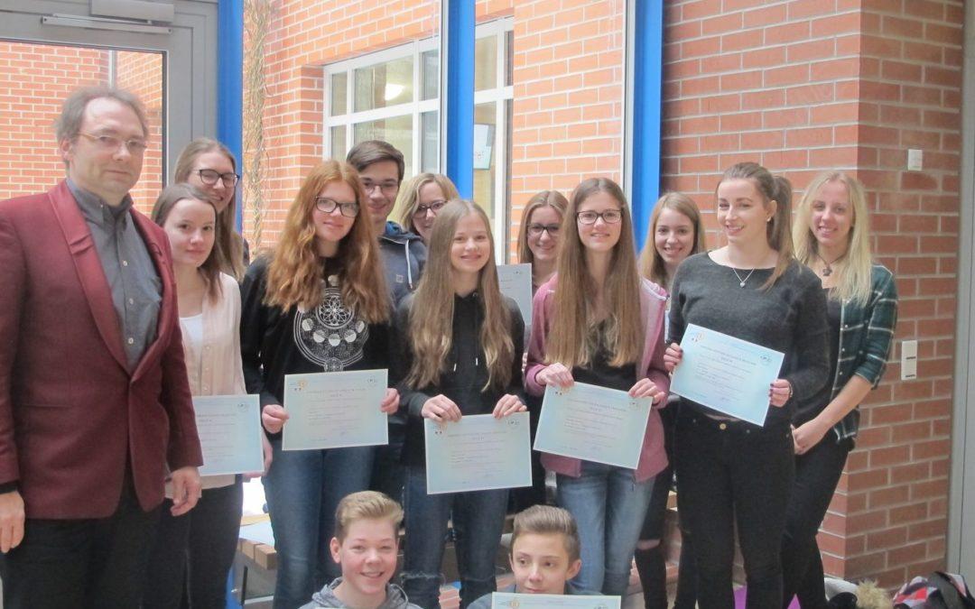 Das Dominicus-von-Linprun-Gymnasium feiert den deutsch-französischen Tag
