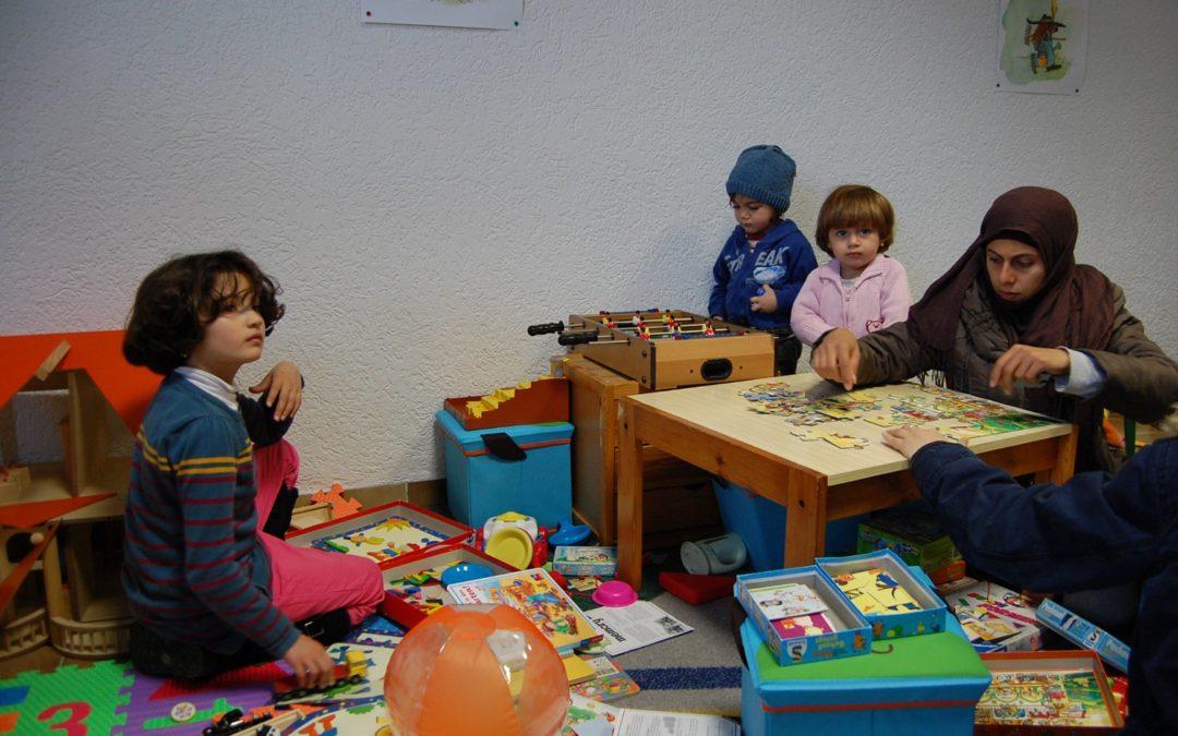 Ein Spielezimmer für Flüchtlingskinder