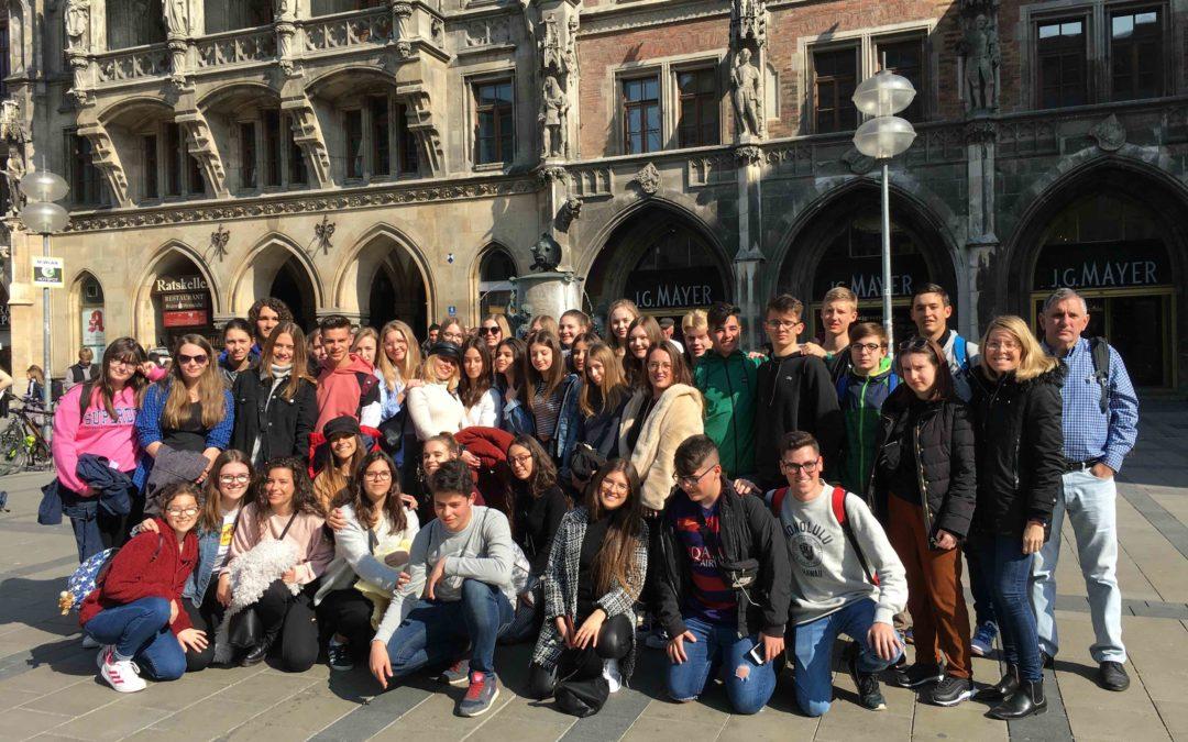 Besuch aus Andalusien am Gymnasium Viechtach