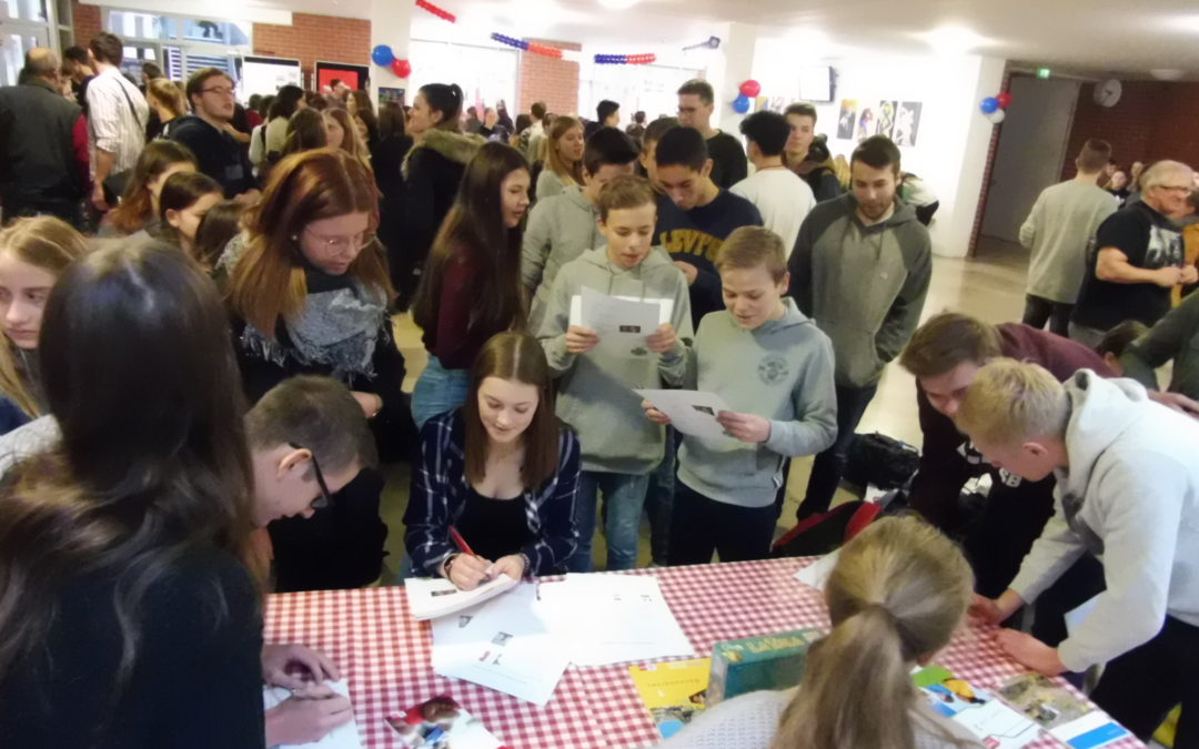 Vive la France – Deutsch-Französischer Tag am Gymnasium
