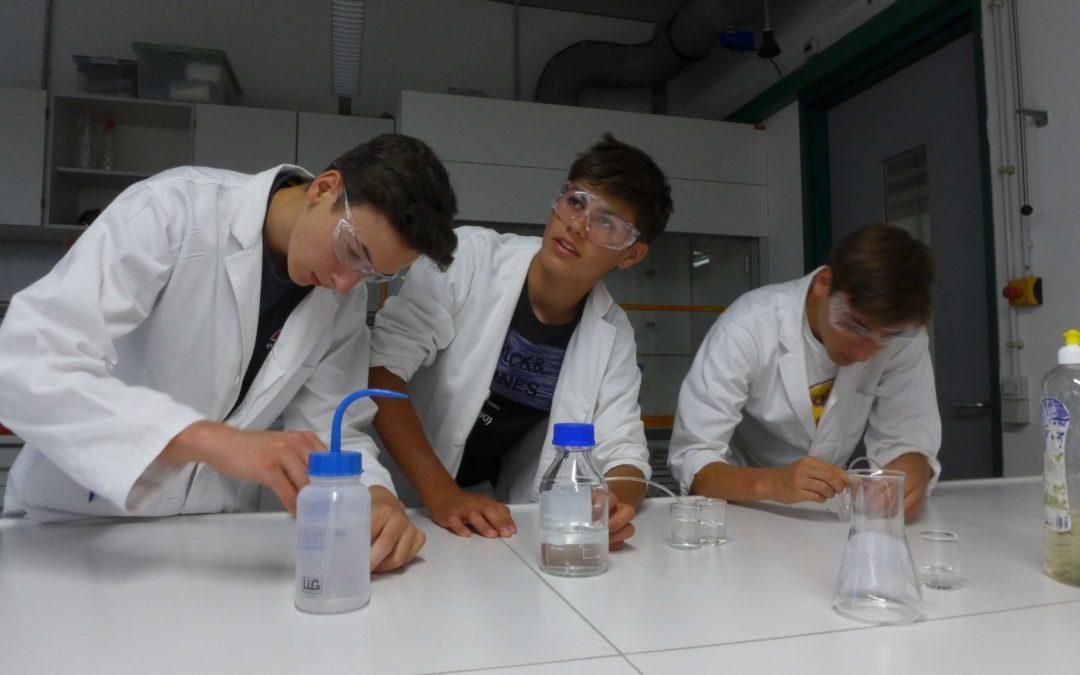 Chemie der Sinne – Schülerlabor an der Uni Regensburg
