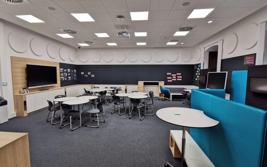 Ein visionäres Lehrerzimmer
