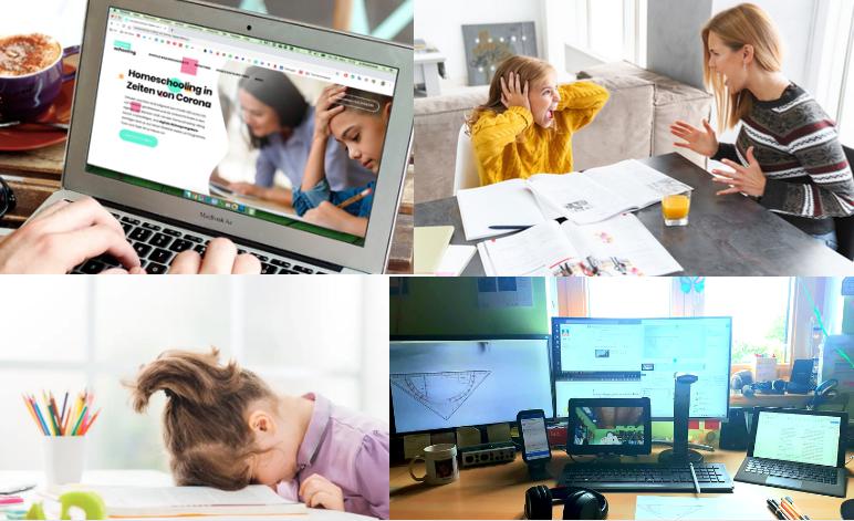 Fotowettbewerb: Homeschooling in Bildern