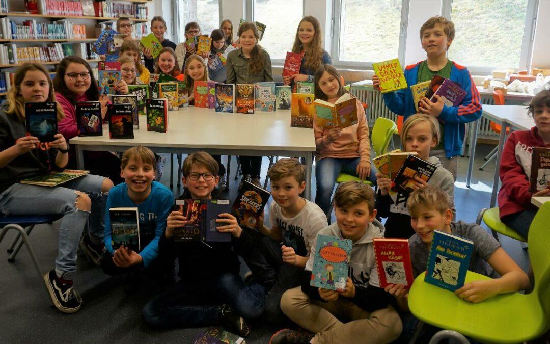 Einblicke in ein Homeschooling-Projekt – das Lesetagebuch der 5c