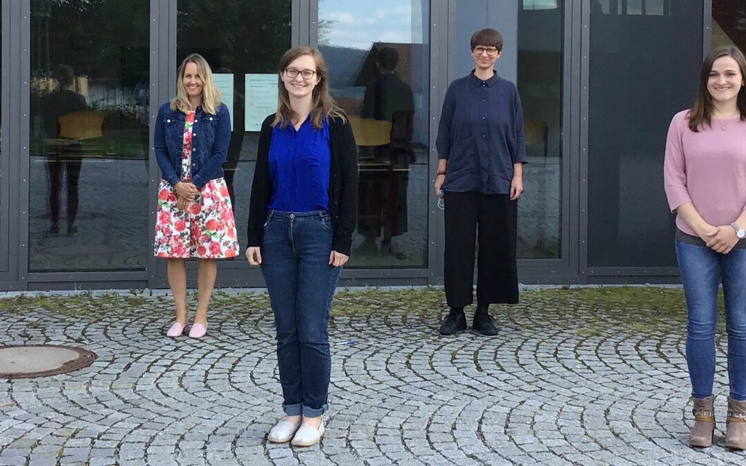 Erste Schultage für fünf neue Kolleginnen