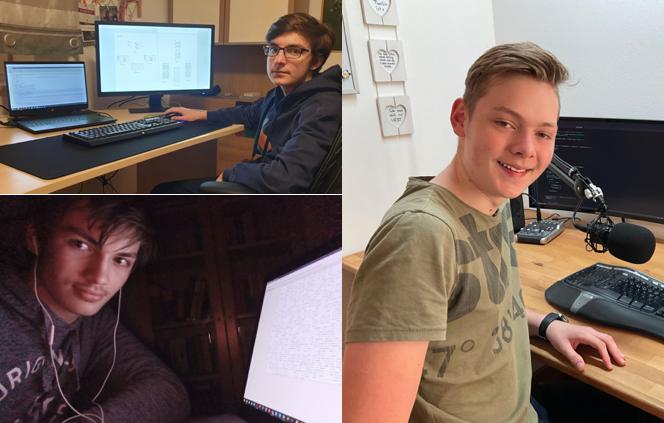 Drei Schüler sind in der Endrunde des Bundeswettbewerbs Informatik